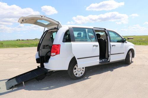 Dodge Caravan Rear Entry Conversion