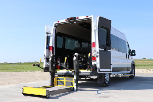 Rear Lift Dodge Promaster Wheelchair Accessible Van