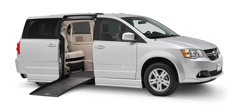 wheelchair accessible van dodge converted ramp side entry