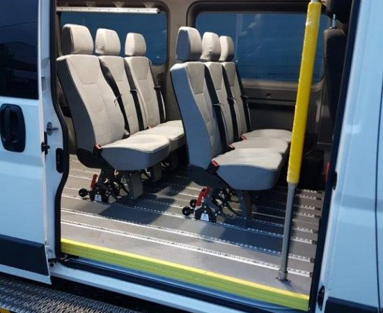 Seating In Wheelchair Bus Winnipeg - MoveMobility