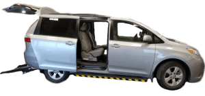 Toyota Sienna Rear Entry Van Winnipeg - MoveMobility