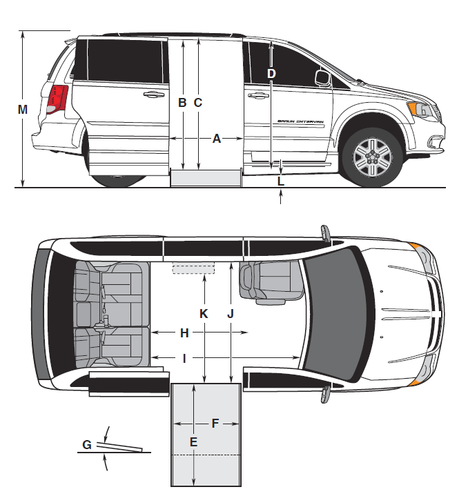 Floorplan of braunability commercial e3 side entry