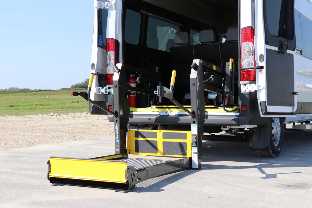 Wheelchair Accessible Promaster with Rear Lift