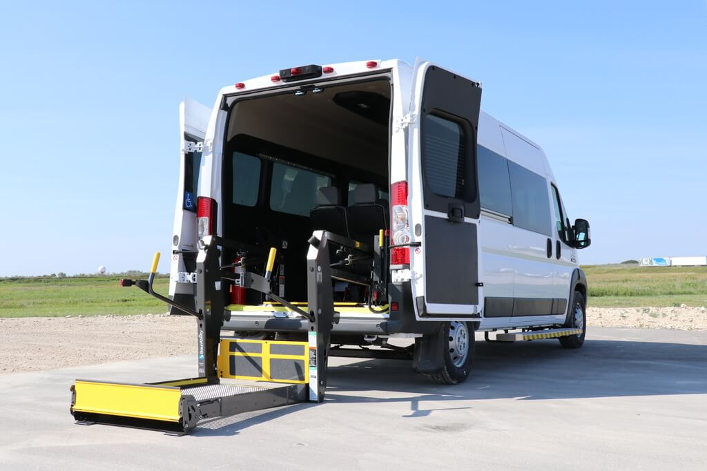 Dodge Promaster with Rear Accessible Wheelchair Lift
