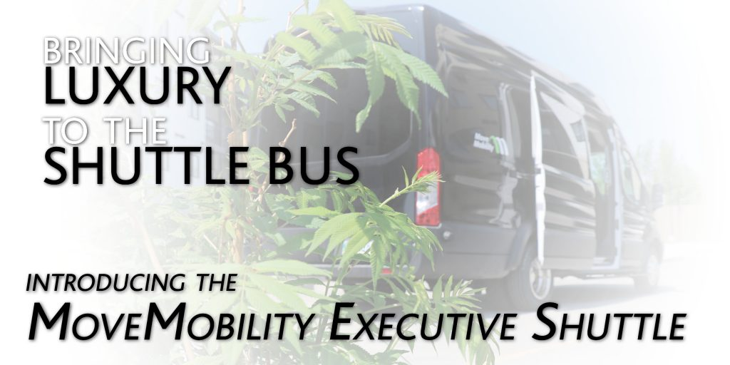 luxury shuttle bus