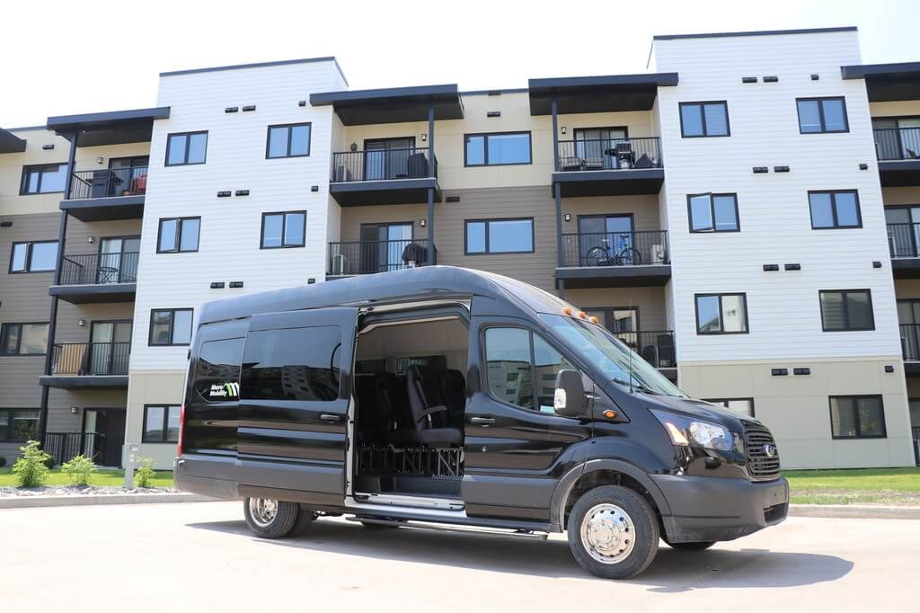 MoveMobility Executive Style Shuttle used by retirement residences