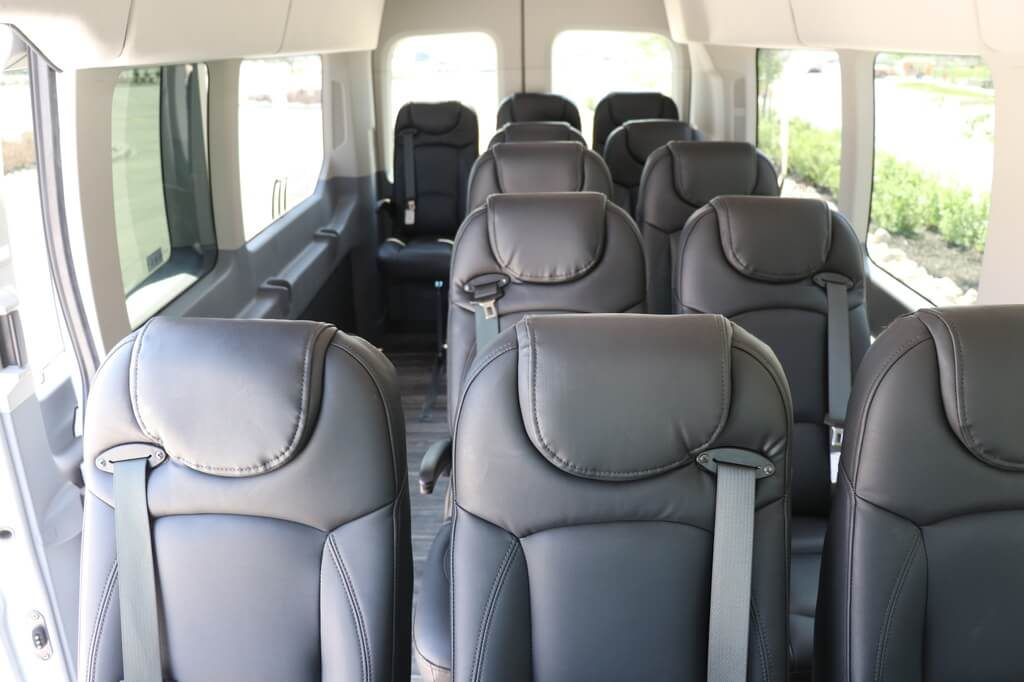 MoveMobility Executive Style Shuttle oversized windows
