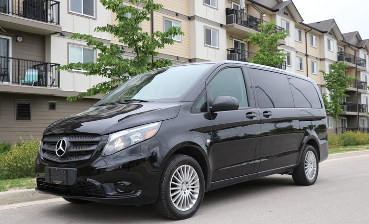 MoveMobility Metris Business Line Executive Shuttle Van