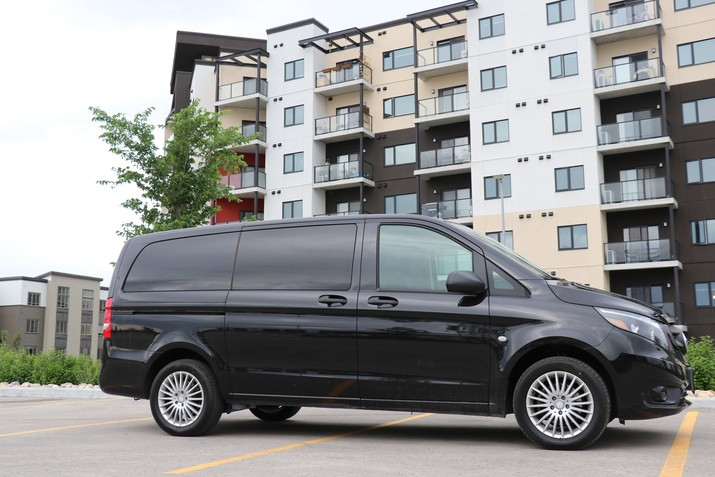 MoveMobility Metris Business Line Executive Shuttle Van