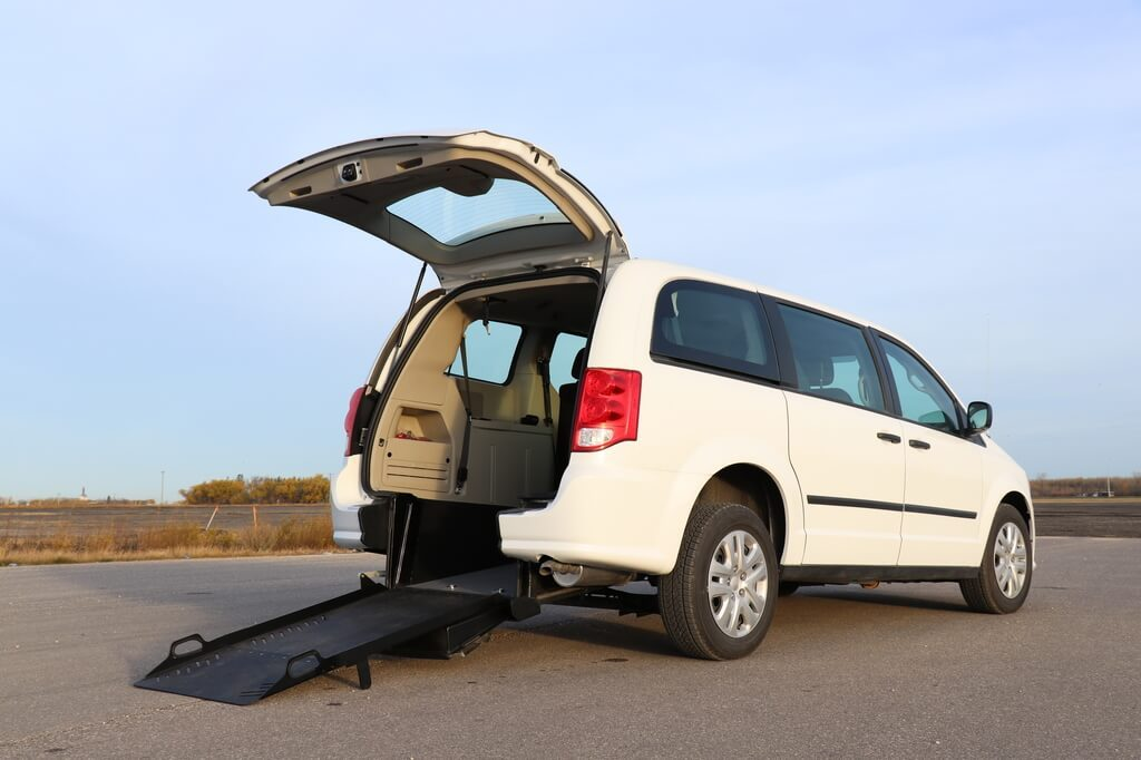 Rear Entry Dodge Grand Caravan