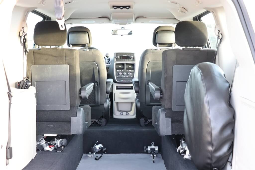 Rear Entry Dodge Grand Caravan with Fixed Seats