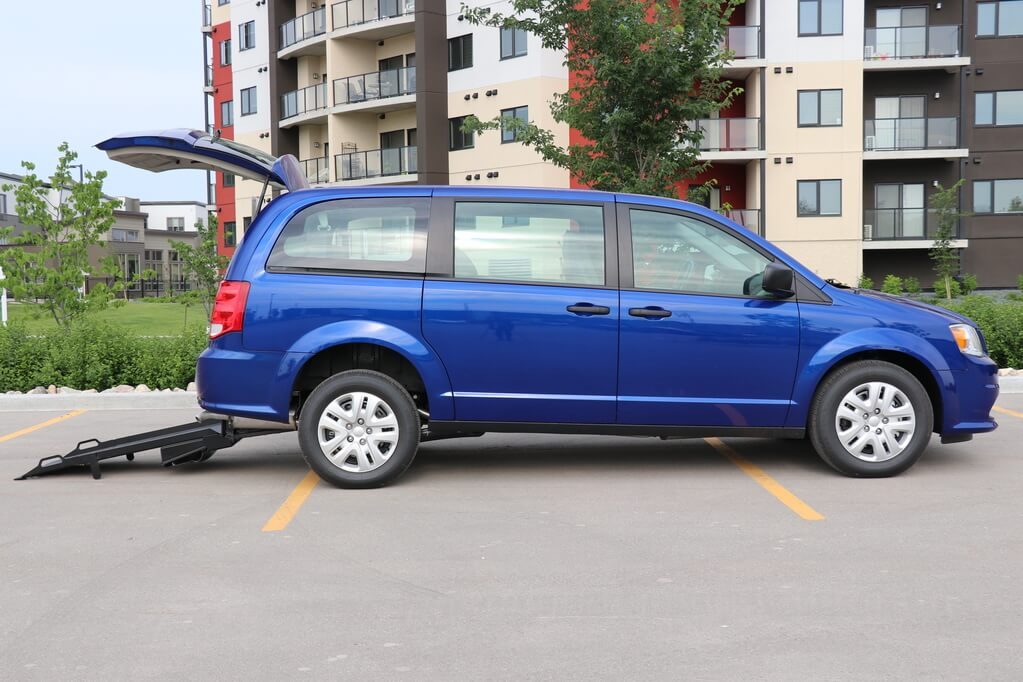 Rear Entry Dodge Grand Caravan