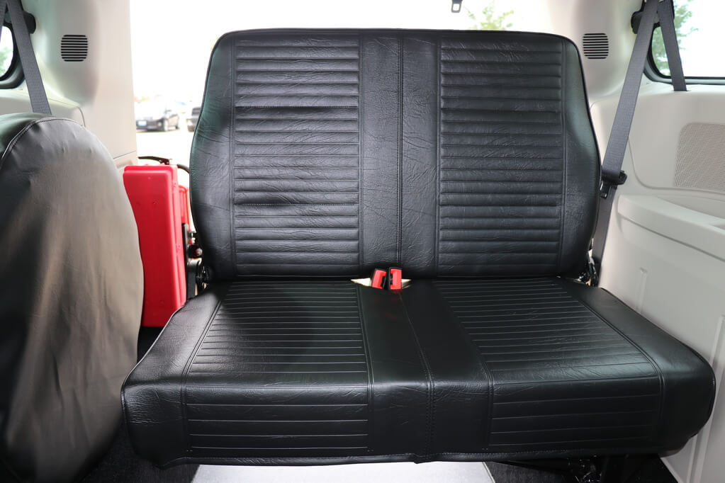 Rear Entry Dodge Grand Caravan Optional 3rd Row Bench