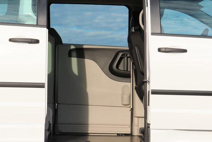 commercial side entry dodge grand caravan