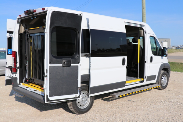Rear Lift Dodge Promaster Wheelchair Accessible JE137902-1