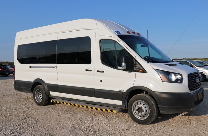 Rear Lift Ford Transit Wheelchair Accessible JKA54352-3