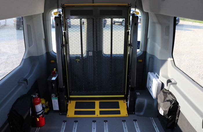 Rear Lift Ford Transit Wheelchair Accessible JKA54352-9