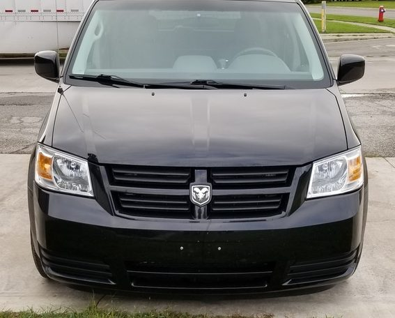 2009 rear entry dodge grand caravan handicap access