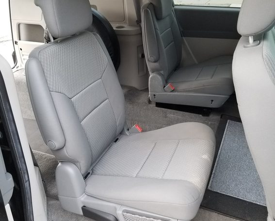 4 passenger wheelchair van rear entry