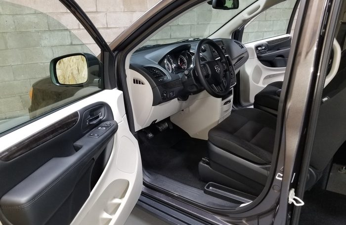 New Rear Entry Dodge Grand Caravan Wheelchair Van