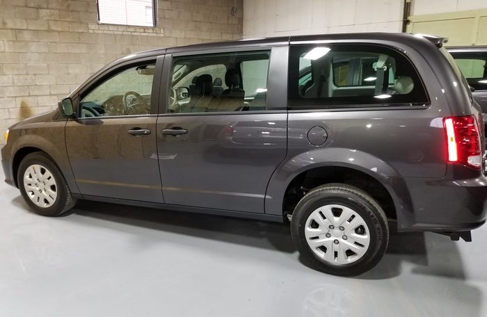 2019 Rear Entry Dodge Caravan